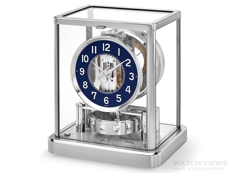 精準永恆的計時藝術:積家Atmos Classique 560 Rhodium經典空氣鐘