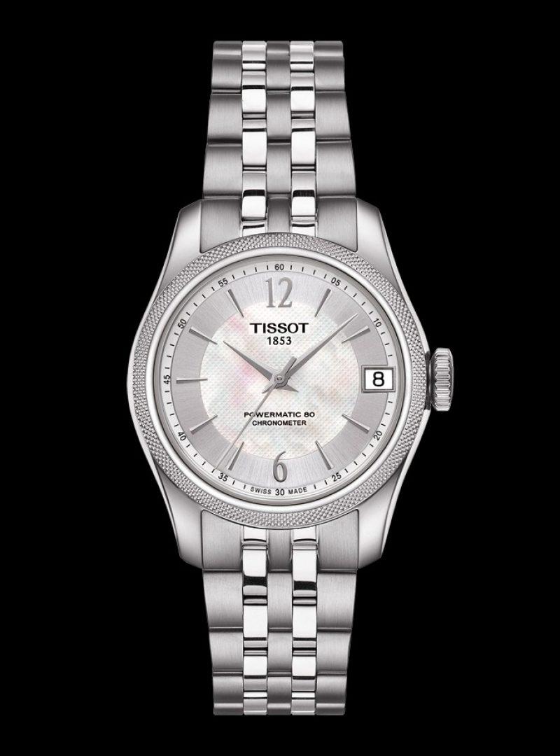 寶環系列矽游絲COSC女款腕錶,建議售價 NT$32,400