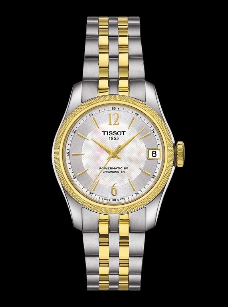 寶環系列矽游絲COSC女款腕錶,建議售價 NT$35,900
