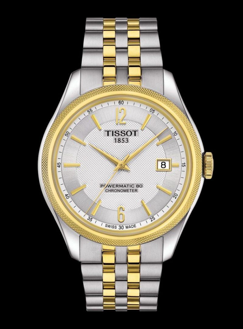 寶環系列矽游絲COSC男款腕錶,建議售價 NT$32,400