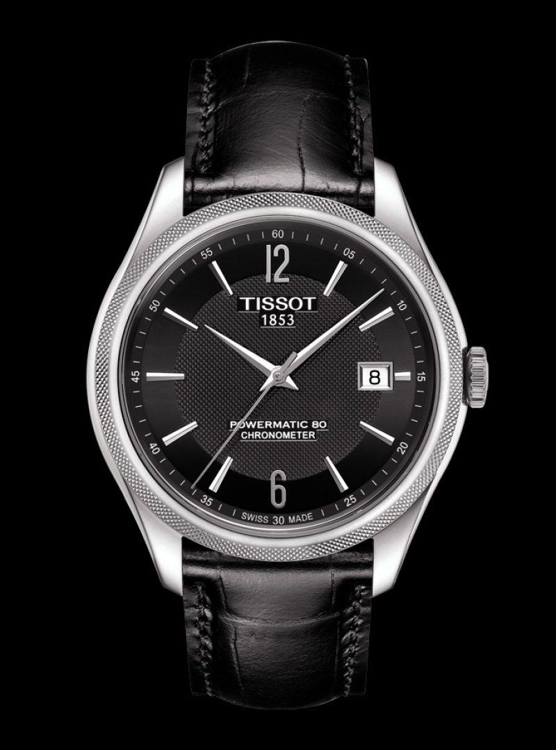 寶環系列矽游絲COSC男款腕錶,建議售價 NT$30,600