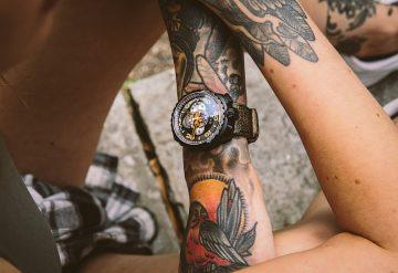 BOMBERG Bolt-68 Chronograph Blue Skull藍骷髏計時碼錶