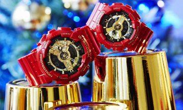 2017 喜迎新春「紅」運當頭:CASIO G-SHOCK新春限定對錶以傳統喜氣紅金配色