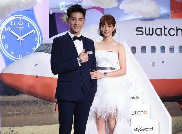 SWATCH台北101 形象店開幕暨 2017春夏新品甜蜜上市
