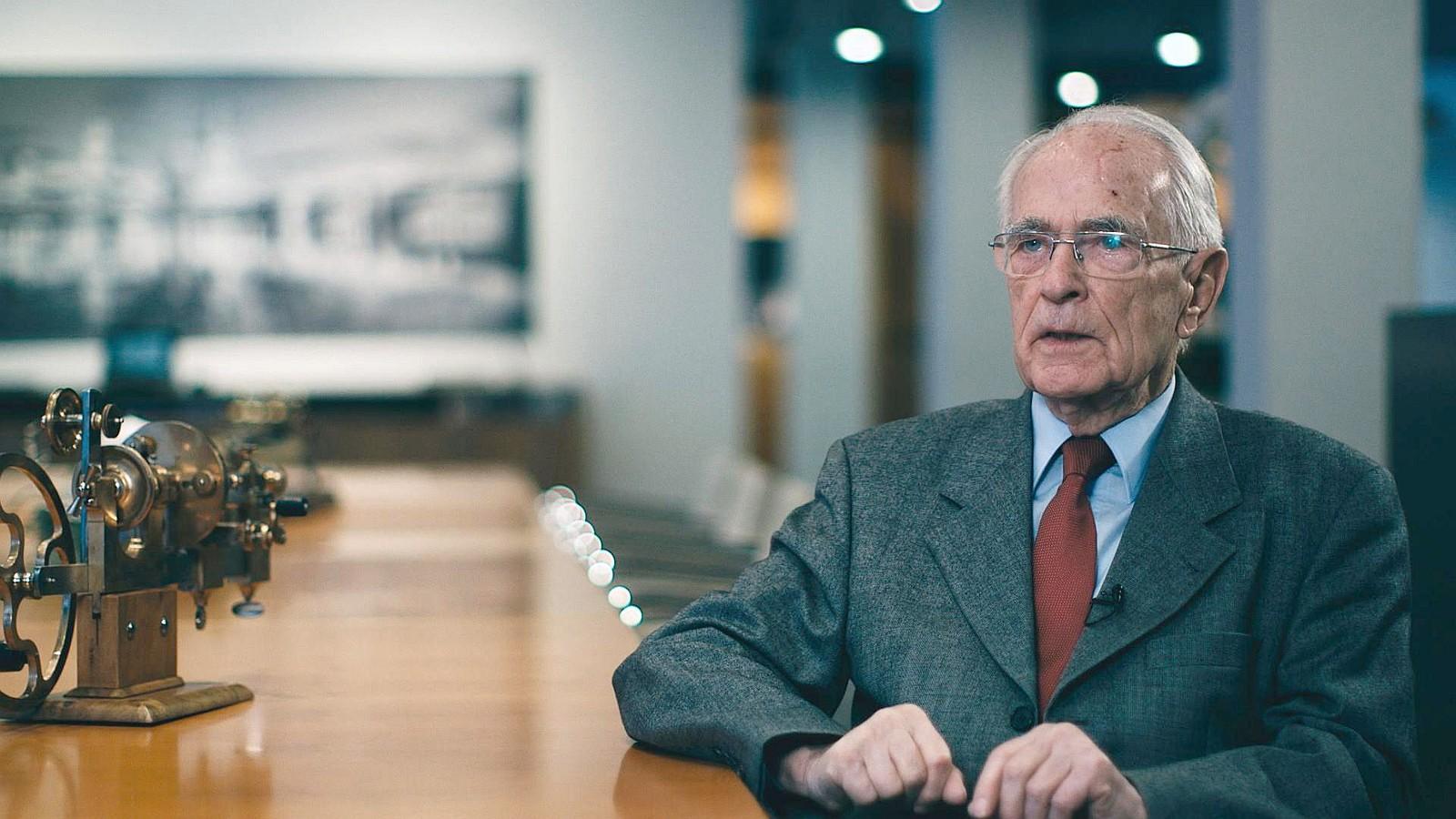 精彩一生、備極哀榮: A. Lange & Söhne榮譽主席Walter Lange先生辭世,享壽92歲