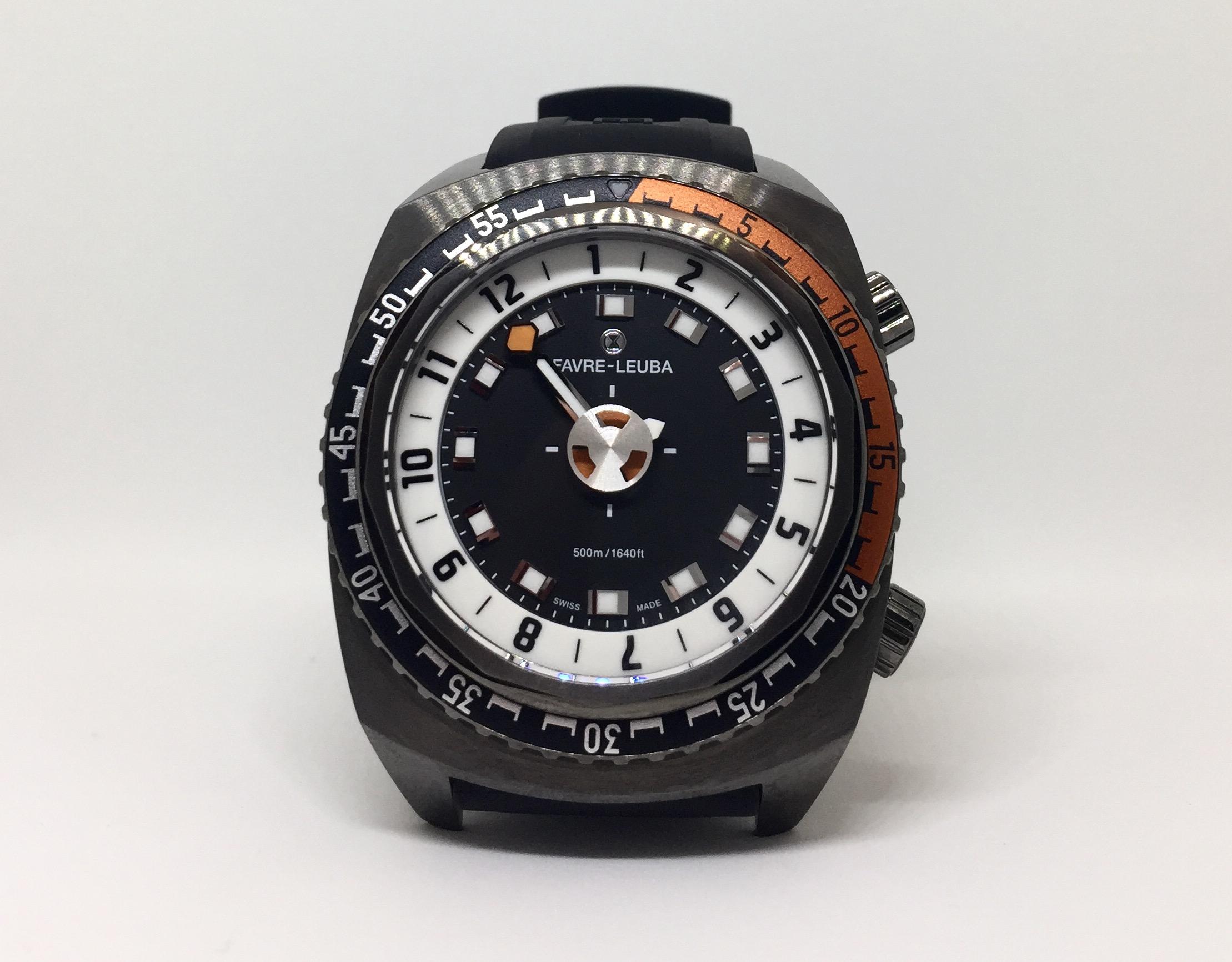 一根指針看透時間:Favre Leuba Raider Harpoon腕錶