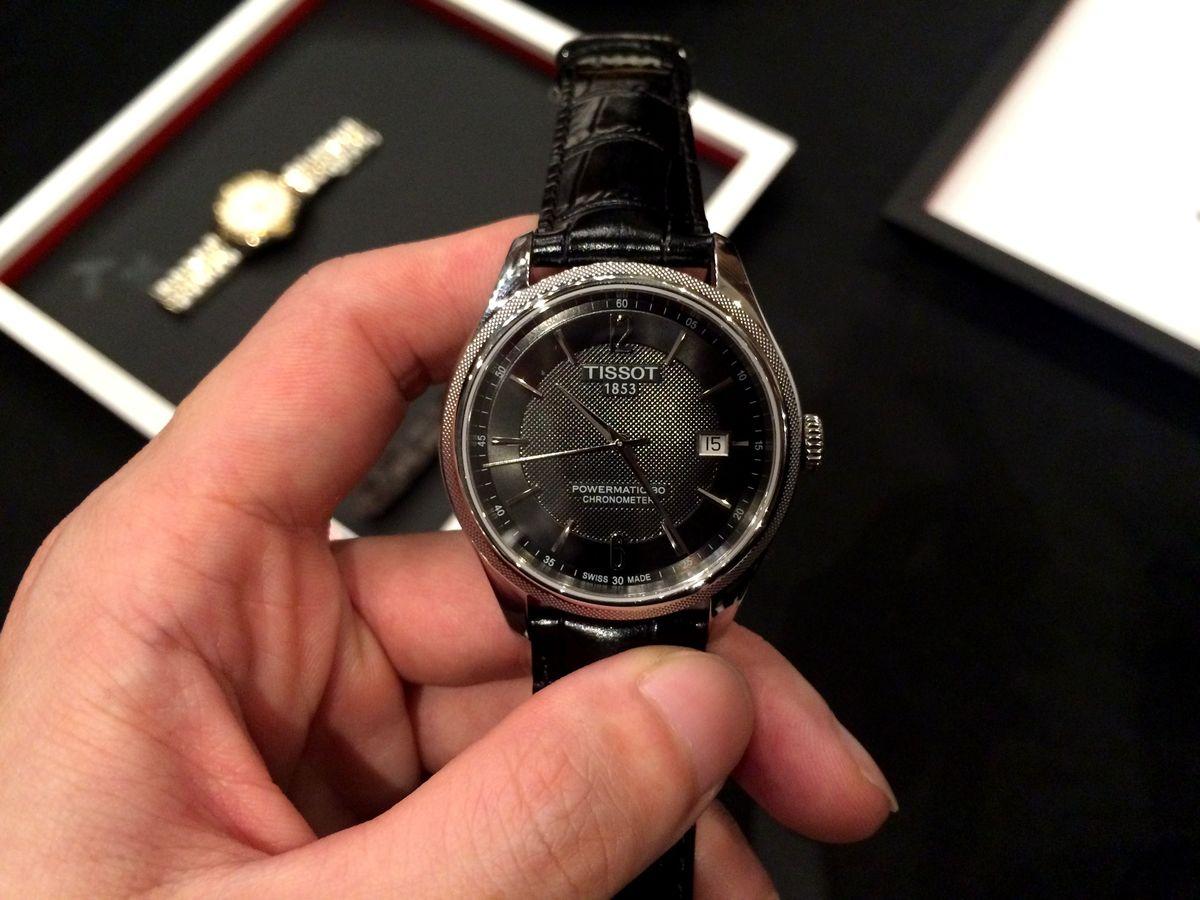 超值矽材質精準時計:天梭Ballade矽游絲COSC腕錶