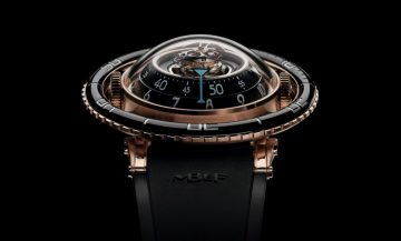 萬眾矚目,屏息以待:MB&F Horological Machine No.7「Aquapod」腕錶