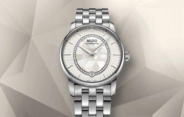 【2017 巴塞爾預報】優雅新色、輕奢時計:MIDO永恆系列復刻超薄對錶與80小時晶燦鑲鑽女錶