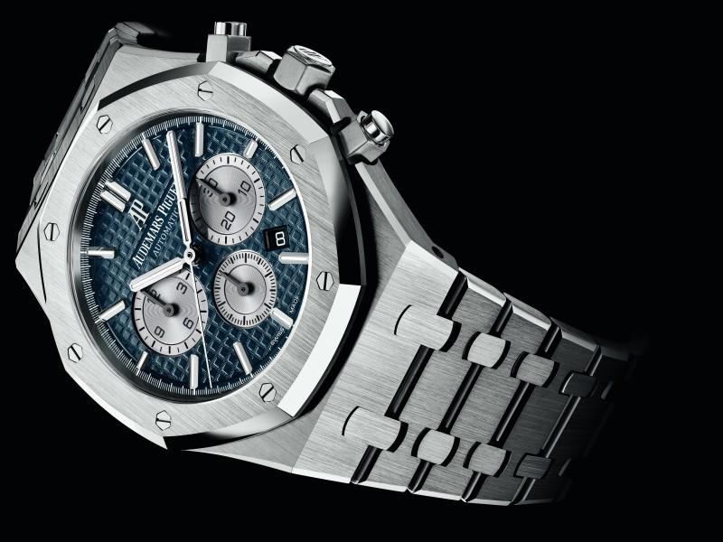 愛彼於2017日內瓦錶展推出八款全新款式皇家橡樹計時碼錶