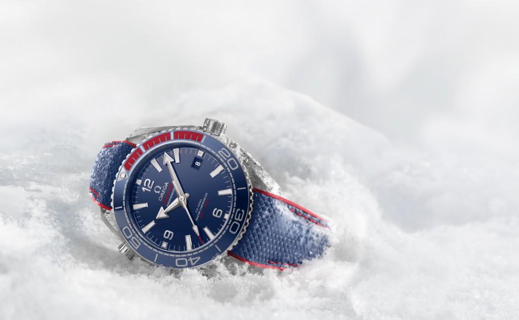慶祝平昌2018年冬季奧運會倒數一週年,OMEGA推出Seamaster海馬Planet Ocean平昌2018限量腕錶