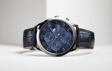 【2017巴塞爾錶展預報】製錶工藝集大成之作:愛馬仕Slim d'Hermès鉑金萬年曆腕錶