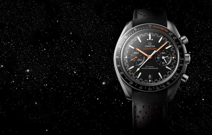 【2017巴塞爾錶展預報】代表性賽車錶盤磅礡回歸:OmegaSpeedmaster超霸自動上鏈腕錶