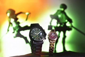 WIRED祭出「人類最強錶款」點燃戰鬥魂,進擊的巨人聯名錶第二彈來了