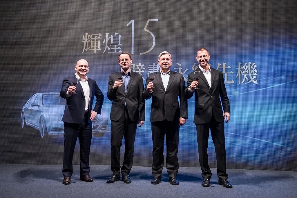持續擘畫永續先機:台灣賓士邁向輝煌15載,衷心感謝車主、經銷夥伴及全體員工