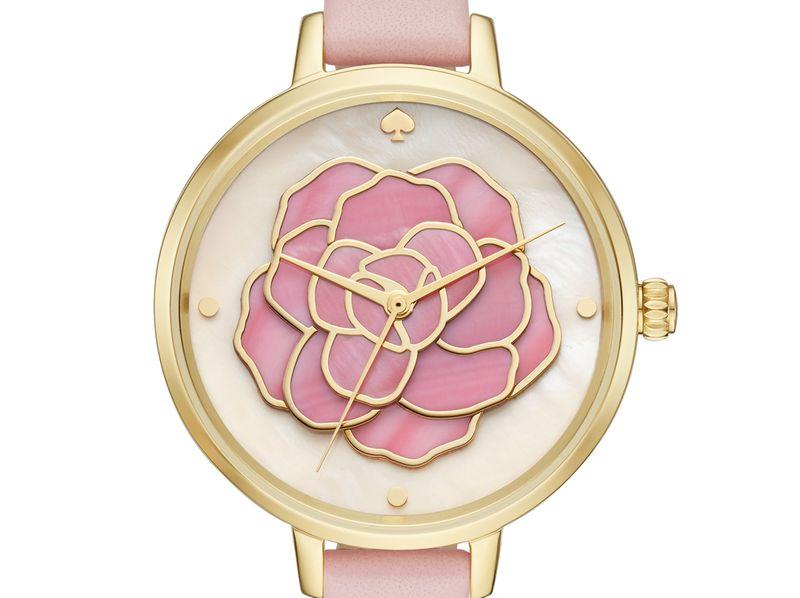 時尚錶春暖花開 甜美粉紅綻腕間