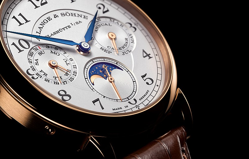 忠誠而務實的計時夥伴 :A. Lange & Söhne 1815 Annual Calendar年曆錶