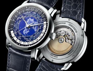 江詩丹頓推出限量十枚Traditionnelle世界時間腕錶鉑金款,僅於專賣店販售