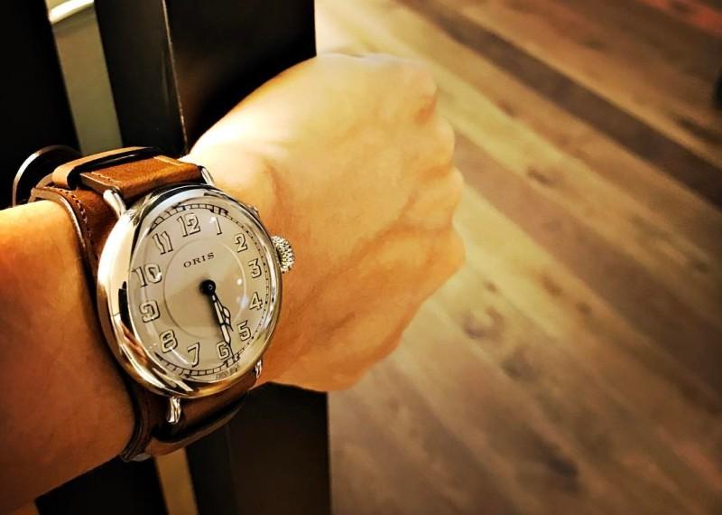 【2017巴塞爾報導】這支正港對組:ORIS Big Crown 1917推出新款限量復刻飛行錶