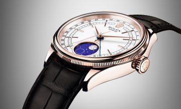 【2017巴塞爾錶展報導】勞力士呈獻美如詩畫的月相:Cellini Moonphase徹利尼月相腕錶