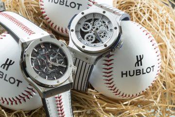 經典棒球融入宇舶時間 Hublot擔任官方合作夥伴