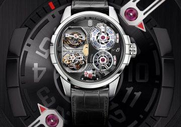 【2017巴塞爾報導】Harry Winston史詩陀飛輪Histoire de Tourbillon 8號腕錶