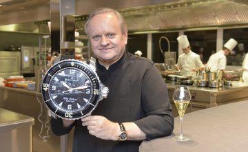 當超凡廚藝遇上卓越製錶工藝:Joël Robuchon侯布雄餐廳自豪裝飾寶鉑經典五十噚掛鐘