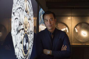 張孝全參觀愛彼2017 年巴塞爾藝術展香港展會貴賓室