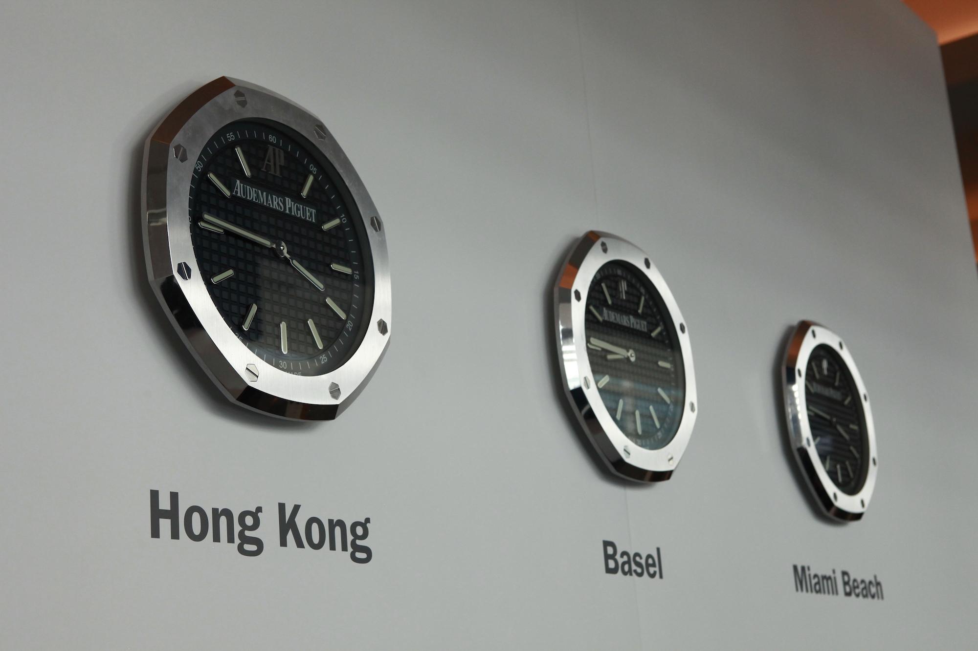 Art Basel香港藝術展遇見AP愛彼錶