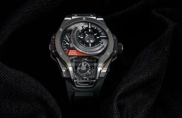 【2017巴塞爾報導】創新技術無止境,多軸陀飛輪旋風來襲:Hublot MP-09 Tourbillon Bi-Axis雙軸陀飛輪腕錶