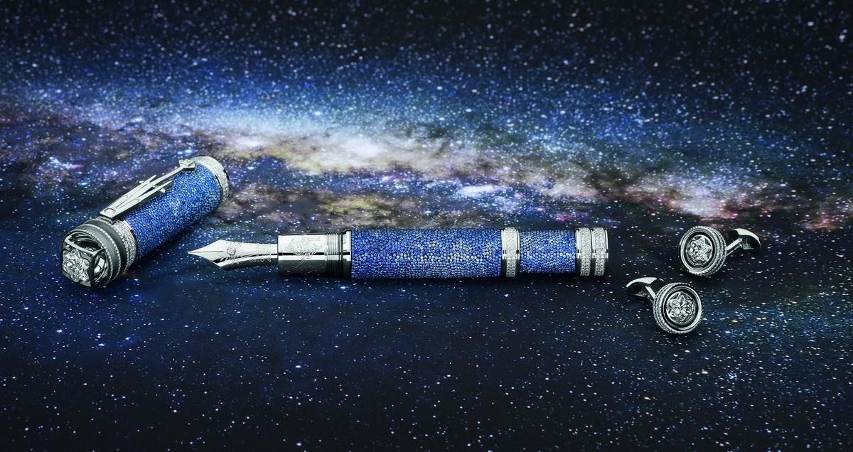以極致藝術星際之旅紀念揭開天文學全新思維先鋒:萬寶龍「向約翰‧克卜勒致敬」系列限量書寫工具
