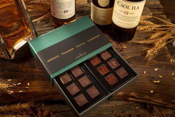 引領威士忌品味新風潮:DIAGEO帝亞吉歐攜手Yu Chocolatier畬室,推出法式威士忌夾心巧克力禮盒