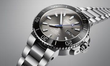 【2017巴賽爾預報】鯊魚救援任務:Oris Hammerhead限量錶將一起對抗鯊魚即將滅絕的威脅