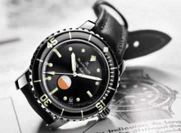 【2017巴塞爾錶展報導】致敬經典:寶珀復刻五十噚系列MIL-SPEC腕錶