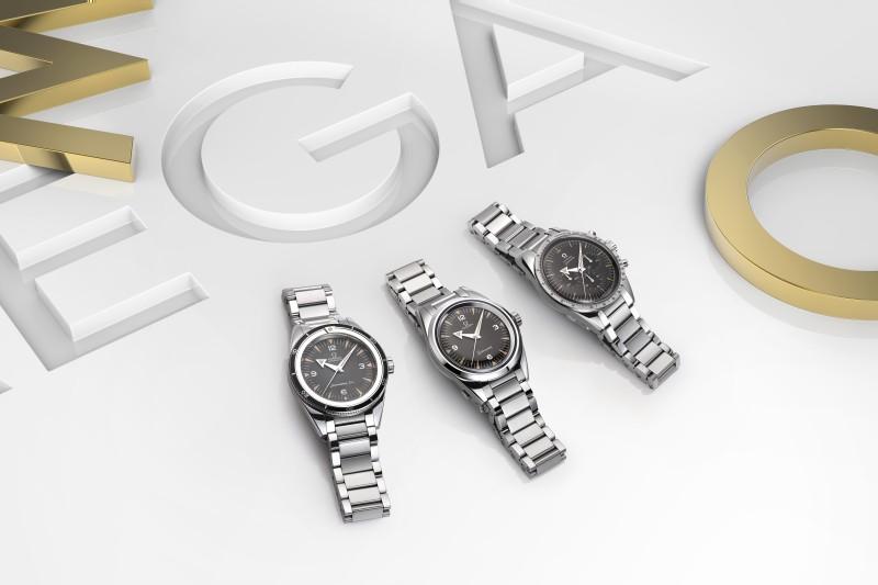【2017巴塞爾錶展報導】OEMGA 1957 Trilogy—Seamaster、Railmaster與Speedmaster六十周年限量版腕錶
