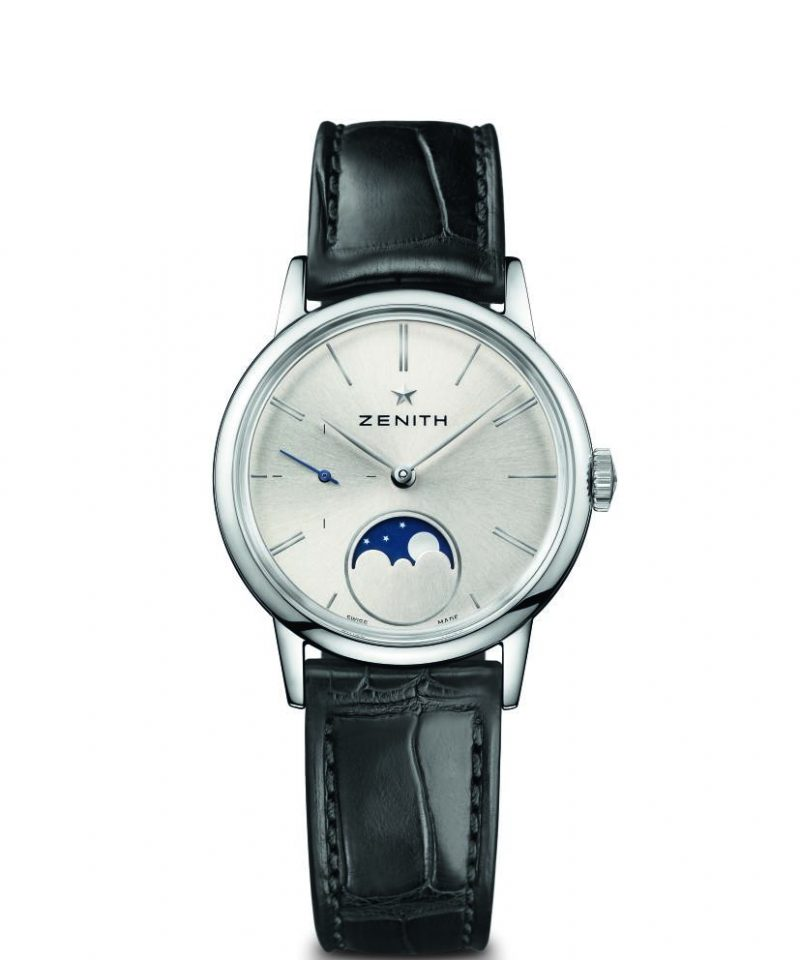 Elite Lady Moonphase 33毫米腕錶羅馬數字款,建議售價NT$181,000