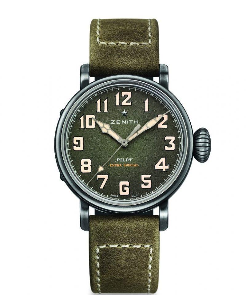 Pilot Type 20 Extra Special 40毫米腕卡其綠面盤款,建議售價NT$ 198,400