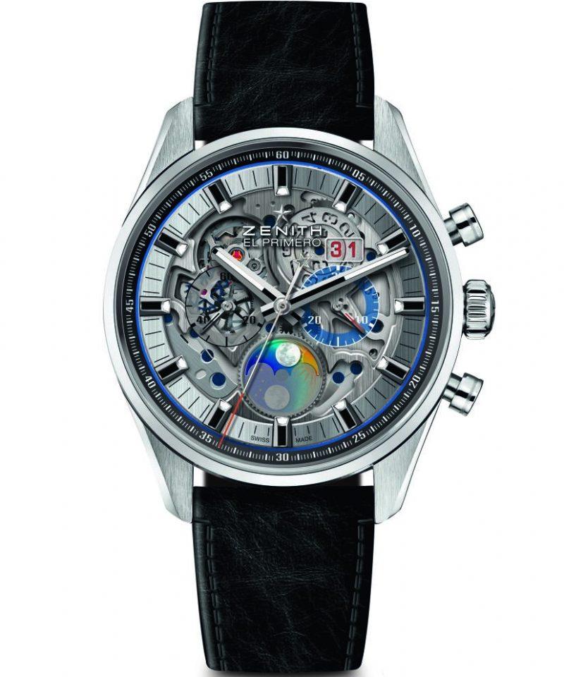 Chronomaster El Primero Grande Date Full Open腕錶,建議售價NT$380,200