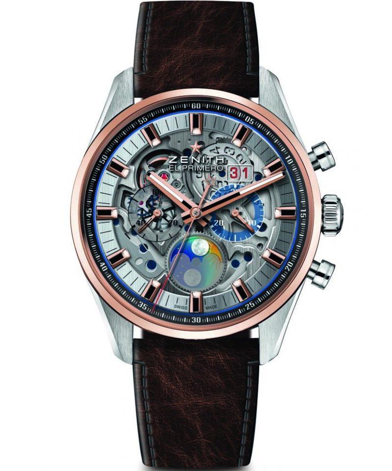 Chronomaster El Primero Grande Date Full Open腕錶,建議售價NT$436,100