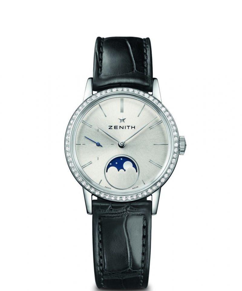 Elite Lady Moonphase 33毫米腕錶,建議售價NT$248,300