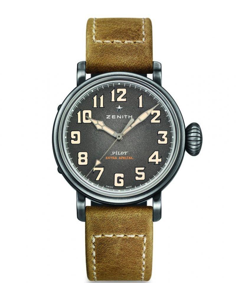 Pilot Type 20 Extra Special 40毫米腕錶石灰色面盤款,建議售價NT$ 198,400