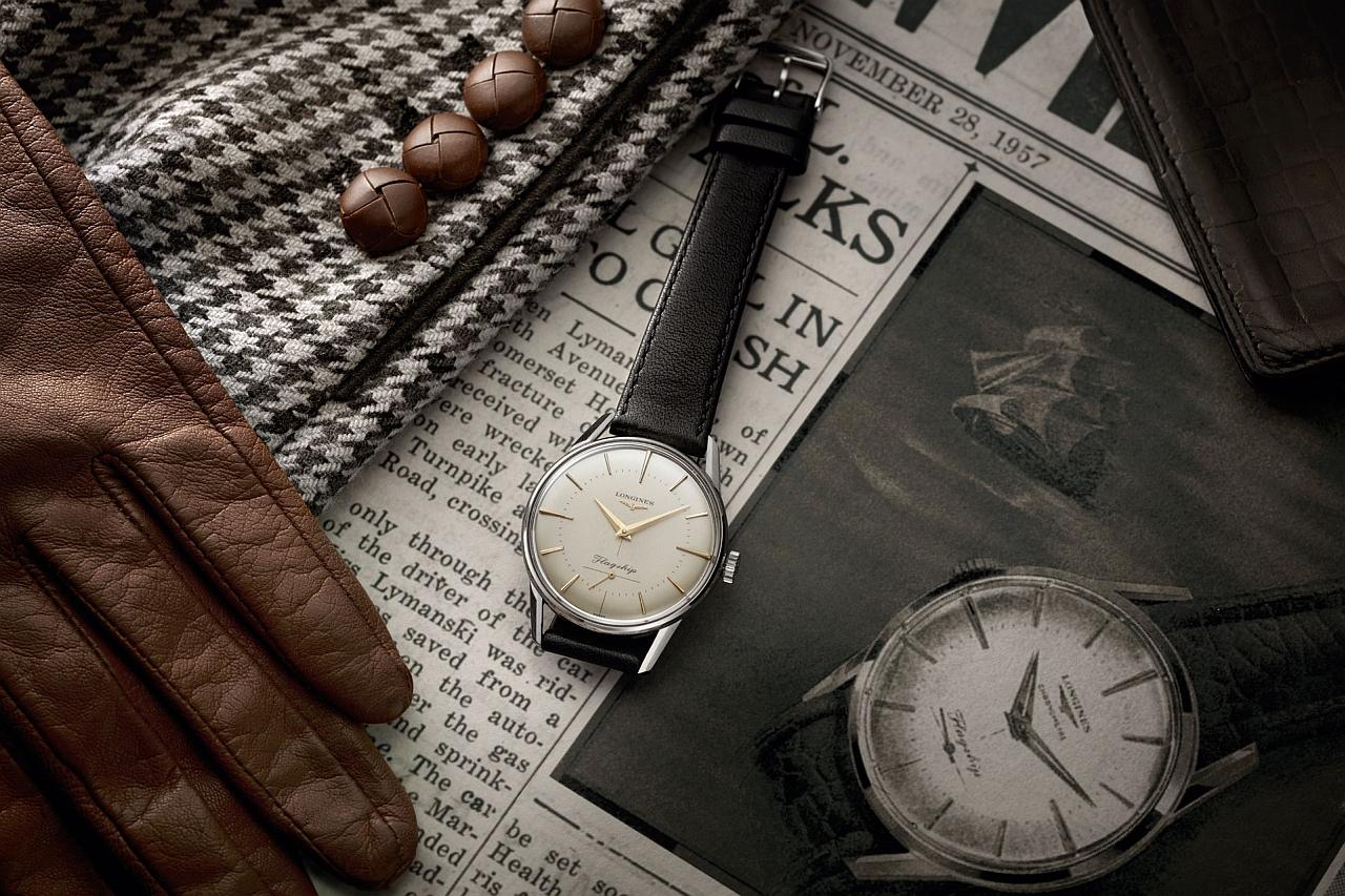 Longines浪琴表旗艦系列60周年紀念復刻腕錶於全台浪琴表名品店搶先發售