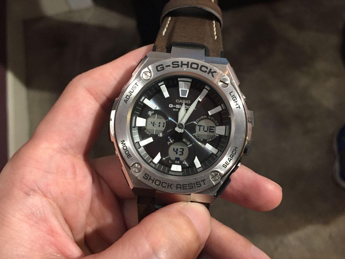 強悍、時尚、輕易入手!卡西歐G-SHOCK全新G-STEEL系列腕錶