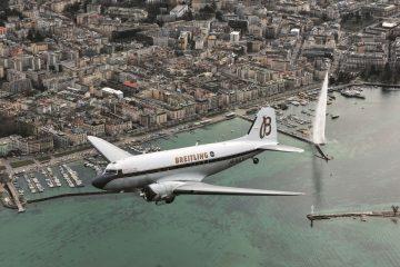 百年靈DC-3古董飛機環球之旅