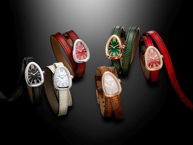 顛覆你的時間美學:寶格麗SERPENTI 腕錶全新登場