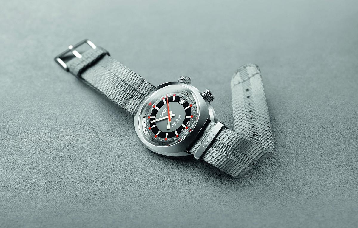 經典回歸:ORIS代表性賽車腕錶Chronoris於半世紀後推出全新版本