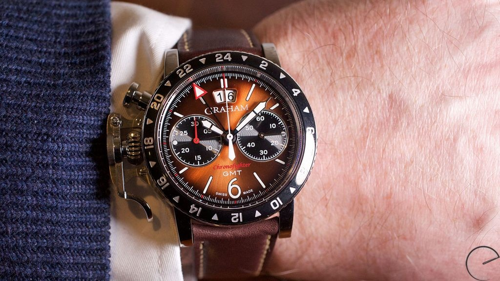 天時地利,硬漢的時間夥伴:Graham Chronofighter Vintage GMT