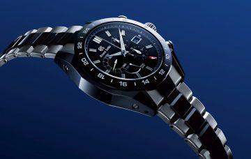 鈦金屬與陶瓷的完美協調:Grand Seiko Spring Drive GMT計時碼錶