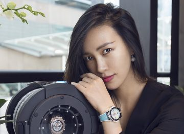 東方女性的婉約浪漫時計:HUBLOT BIG BANG ONE CLICK陳漫特別版問世