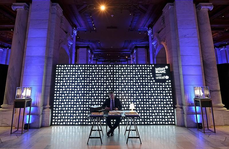 傳遞書寫之禮:萬寶龍UNICEF系列商品紐約登場